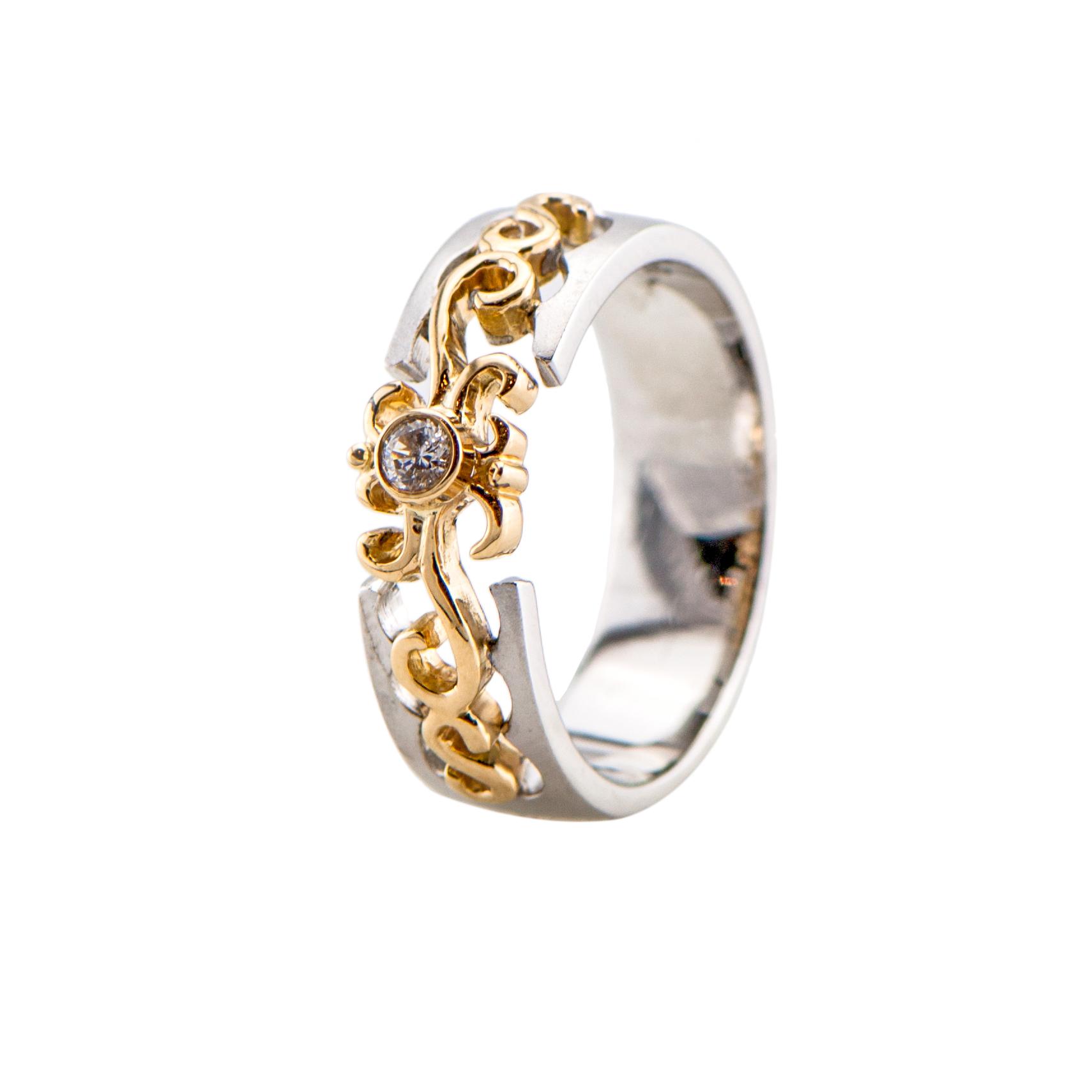 Vector design wedding band Best Diamonds Jewellery Shop in Dubai