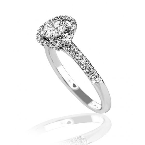 hallo engagement ring