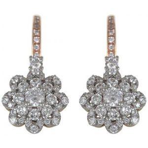 18kt rose gold earrings
