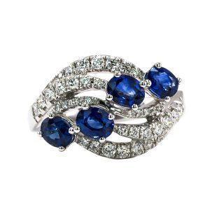 Blue Sapphire Ring – B13448