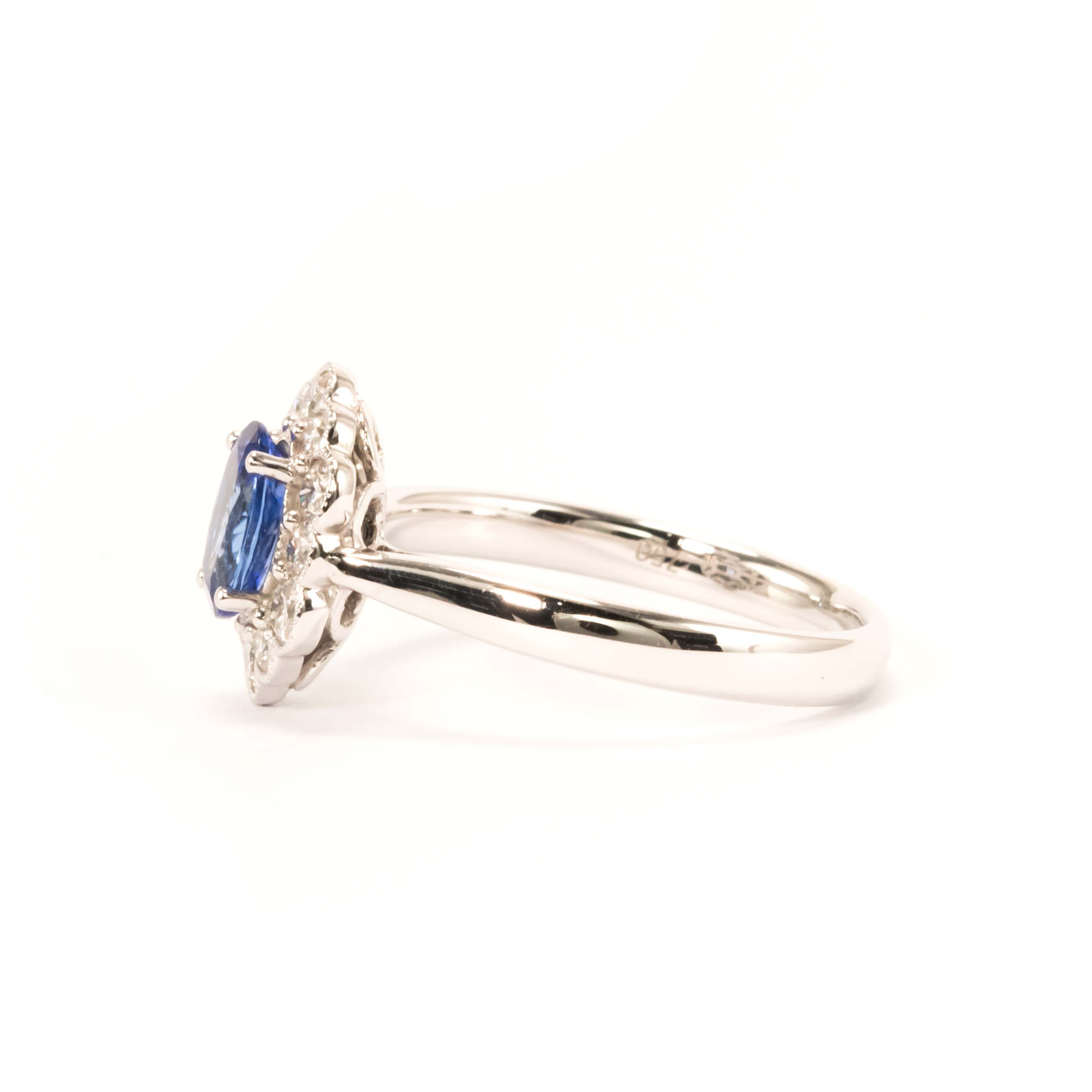 Tanzanite Diamond Ring B Best Diamonds Jewellery Shop in
