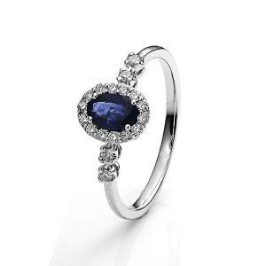 majestic dimond ring - B19294