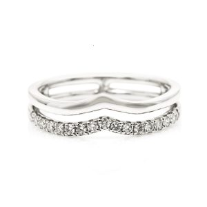 bonded diamond ring