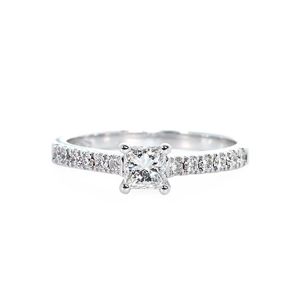 1 Carats Diamond Engagement Ring