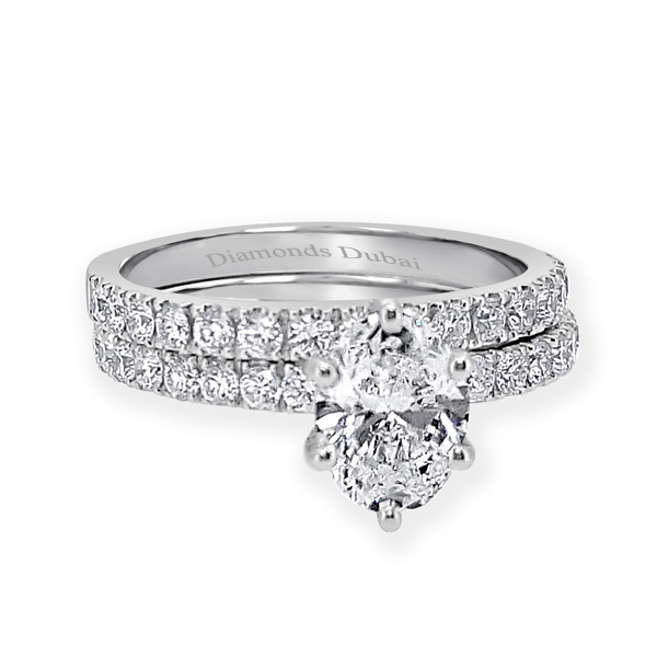 oval twin ring