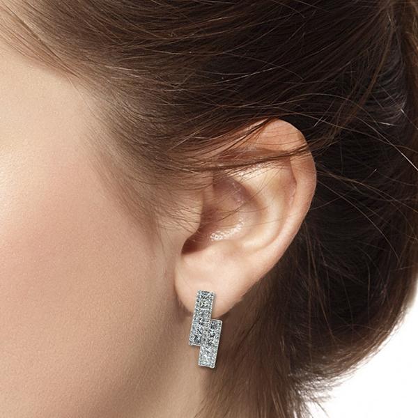 Classic Round Diamond Earrings