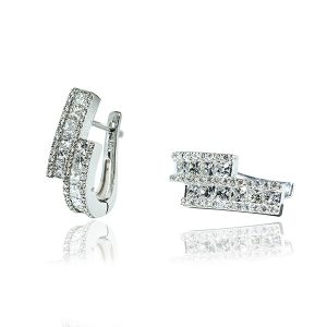 Classic Round Diamond Earrings