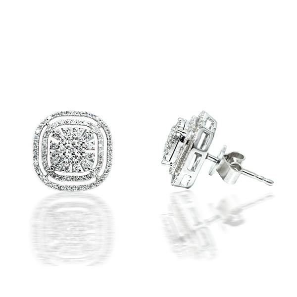 Diamond Earrings in dubai