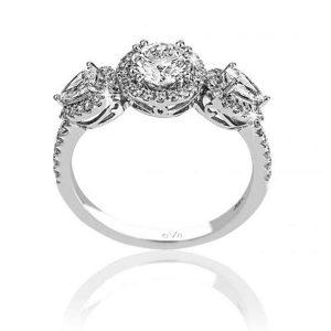 Astonished Engagement Diamond Ring