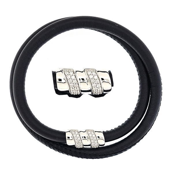 leather Mens bracelet