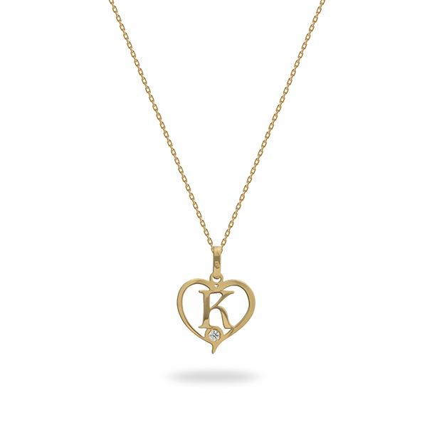 kids jewellery letter k