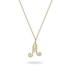 kids jewellery letter M