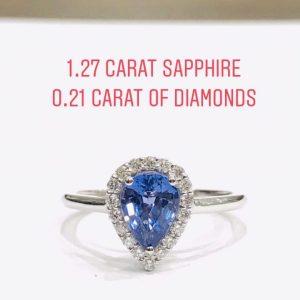 diamond-sapphire-engagement
