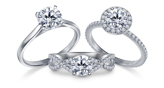 Diamond Halo Setting Rings