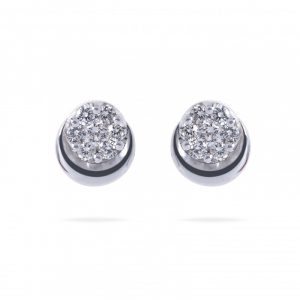 Invisible Diamond Earrings