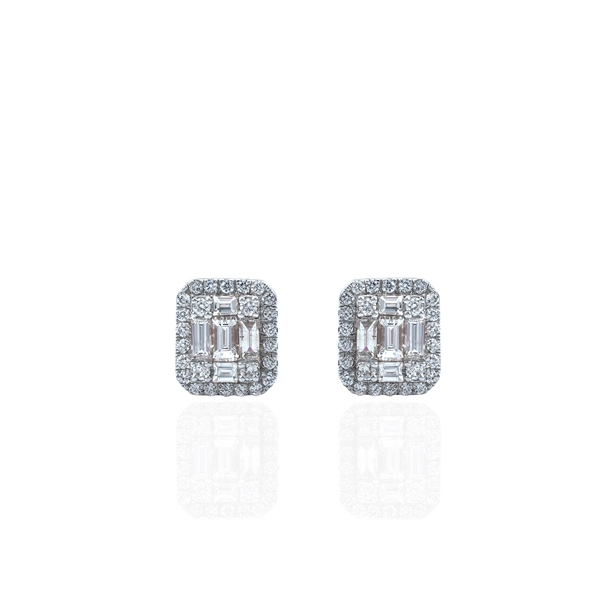 Graceful Diamond Earrings