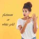 platinum or white gold